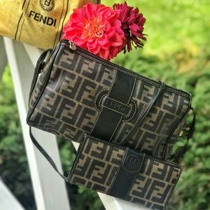 Late 80's early 90's Vintage Zucca Print Crossbody